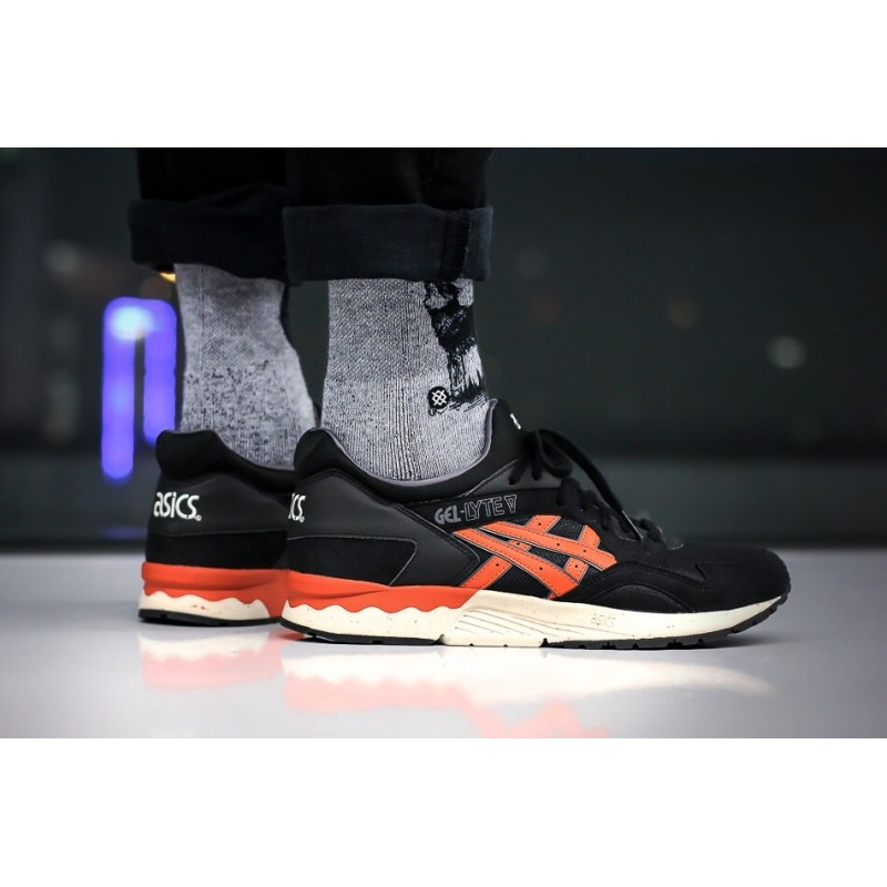 "Asics Gel Lyte V City Pack ""Black/Orange"" мужские кроссовки"