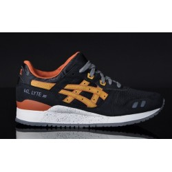 "Asics Gel Lyte III ""Black/Brown"""