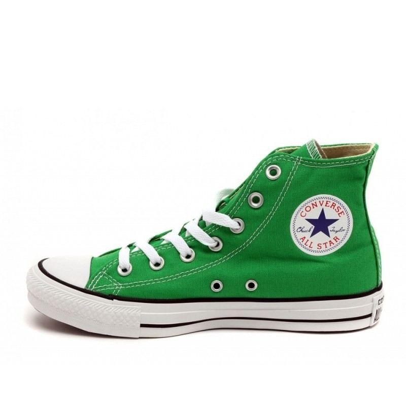 "Converse All Star Chuck Taylor High ""Green""  Кеды"