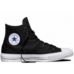 Converse High Black White Navy
