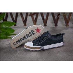 Converse New Collection Dark Black White