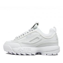 "Fila Disruptor II ""All White"""