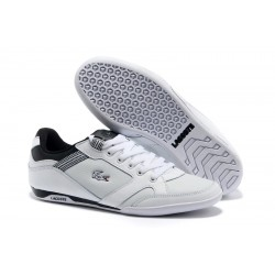 Lacoste Basket White Black