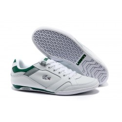 Lacoste Basket White Green