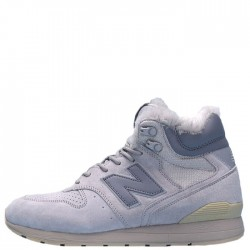 "New Balance 696 Hight Winter ""Cream"" С МЕХОМ"