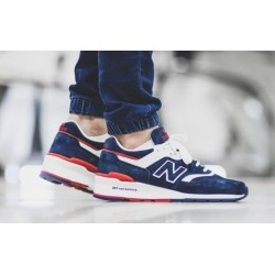 "New Balance 997 ""Navy/Red"""