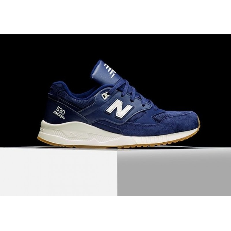 New Balance New Balance M530 90s Running Solids Blue мужские кроссовки