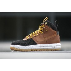 "Nike Lunar Force 1 Duckboot ""Black/Light British Tan"""