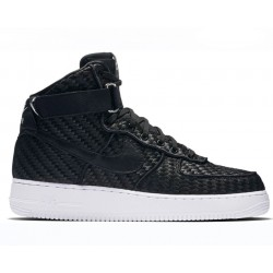 "Nike Air Force 1 High LV8 Woven ""Black/White"""