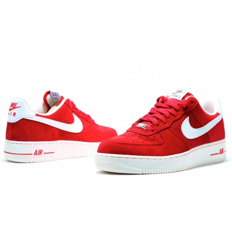 Nike Air Force Low Red мужские кроссовки