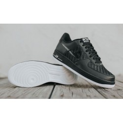 "Nike Air Force 1 Low ""Black-Summit White-Gum"""