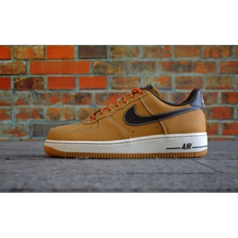 "Nike Air Force 1 Low ""Boot Wheat & Baroque Brown"" мужские кроссовки"