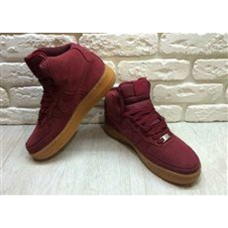Nike Air Force 1 Mid Red 5 женские кроссовки