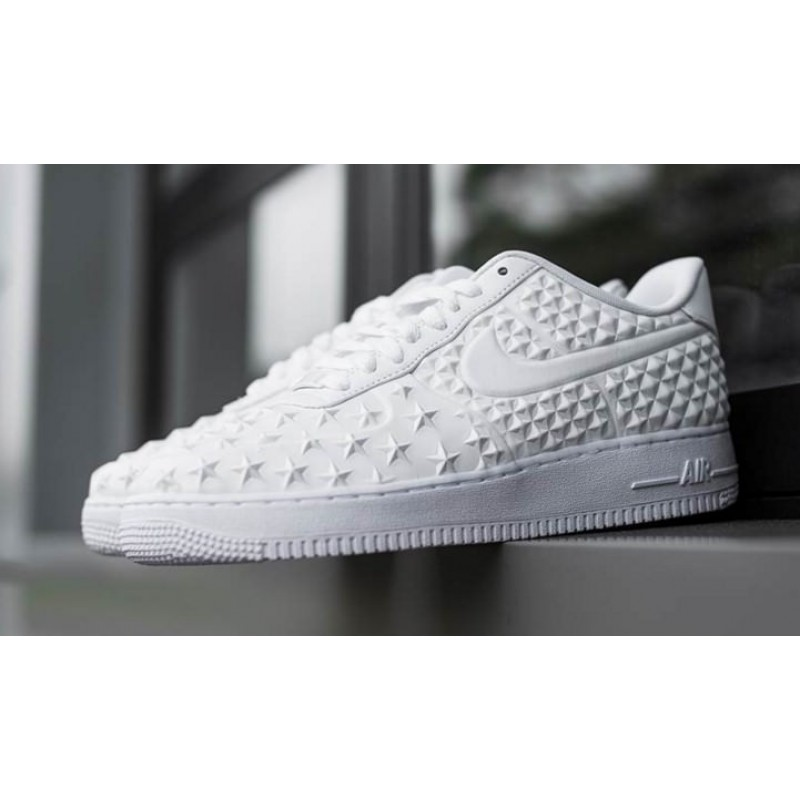 Nike Air Force 1 Star Pack White мужские кроссовки
