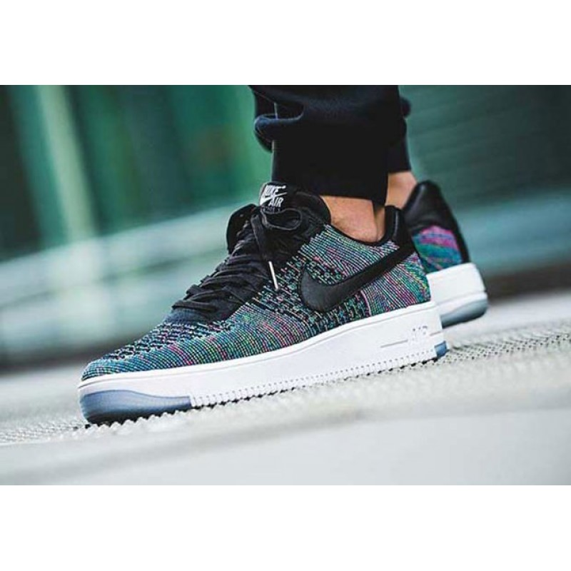 3f6a66d8 Мужские кроссовки Nike Air Force 1 Ultra Flyknit Low Multicolor ...