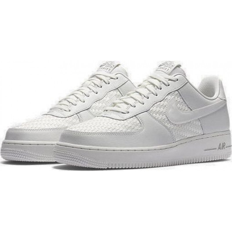 Nike Air Force 1 White Reptiliano мужские кроссовки