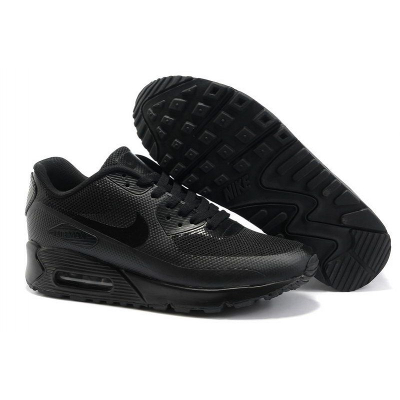 Nike Air Max 90 Hyperfuse Black мужские кроссовки