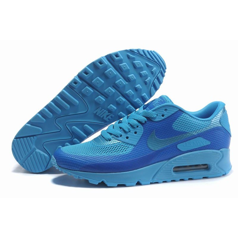 Nike Air Max 90 Hyperfuse Blue мужские кроссовки