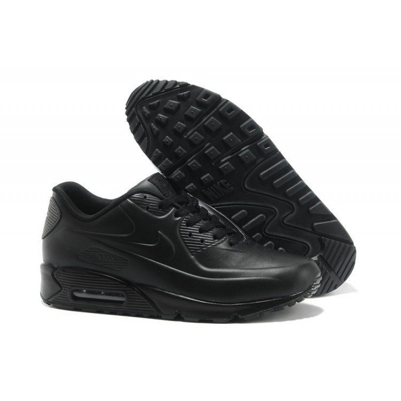Nike Air Max 90 VT Tweed Black Leather мужские кроссовки