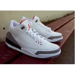Air Jordan 3 Retro White grey