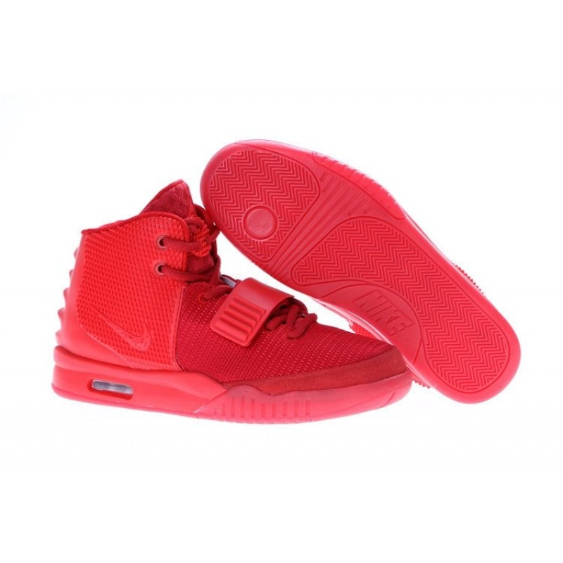 Nike Air Yeezy 2 Red мужские кроссовки