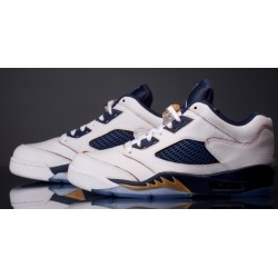 Air Jordan V Retro Low White