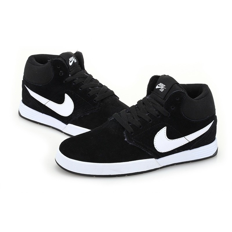 Nike Paul Rodriguez 5 mid Fur Black мужские кроссовки