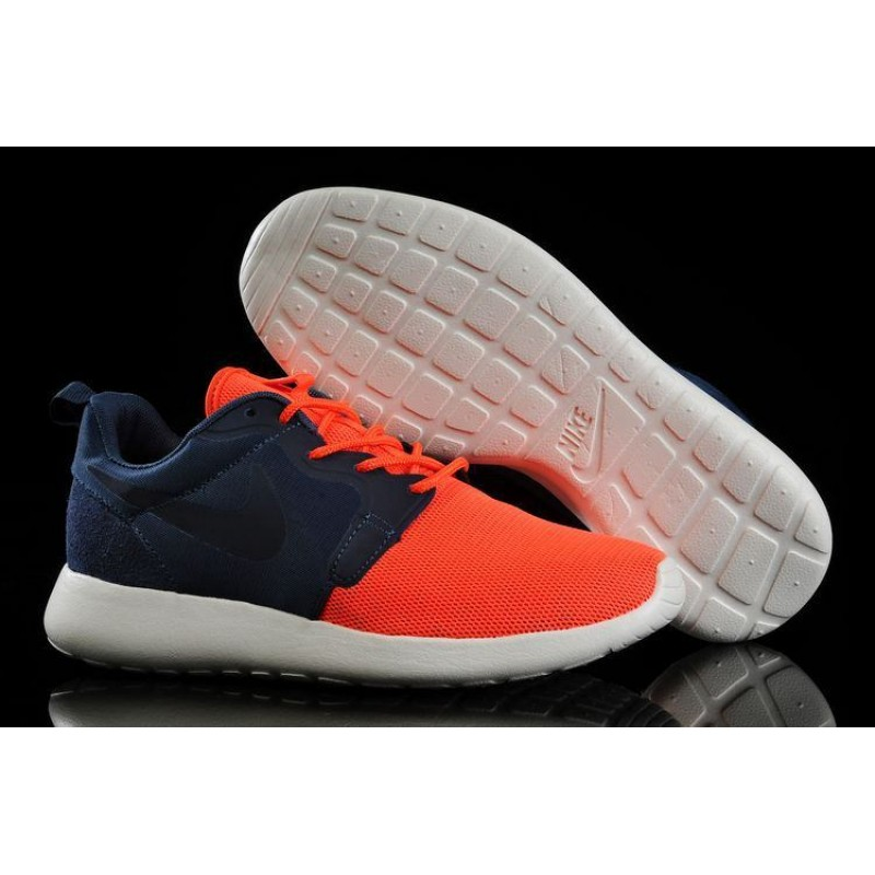 Nike Roshe Run Hyperfuse Blue Red мужские кроссовки