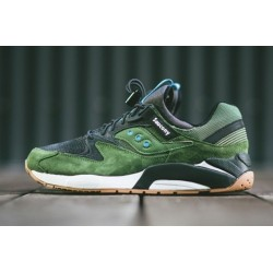 Saucony Grid 9000 Green Black