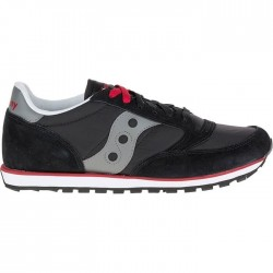 "Saucony Jazz Low Pro ""Black/Red/Grey"""