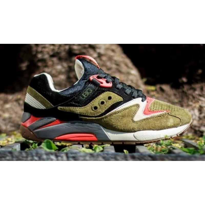 Saucony UBIQ x Grid 9000 Dirty Martini мужские кроссовки