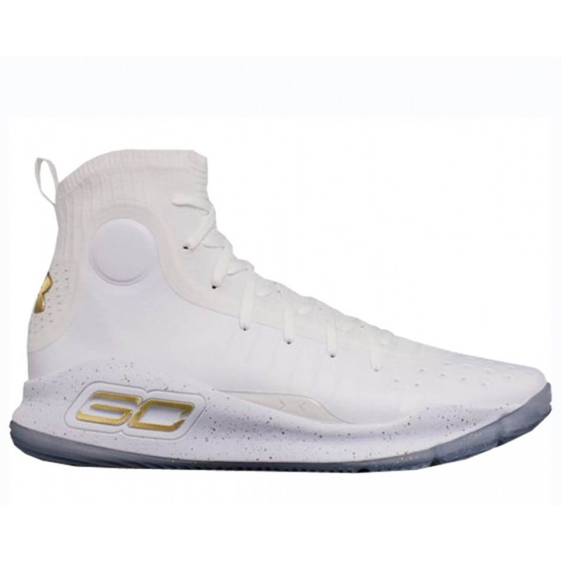 """Under Armour Curry 4 """"Silver White""""мужские кроссовки"""