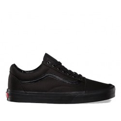 "Vans Canvas Old Skool ""All Black"""