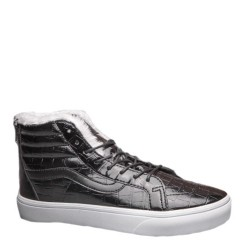 "Vans Velvet Crocodile Leathe ""Black"" с мехом"