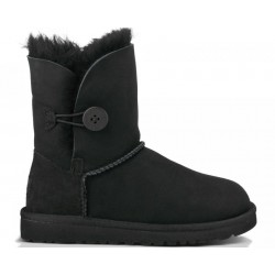 "UGG Baby Bailey Button ""Black"""