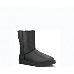 "UGG Baby Classic Short Leather ""Black"""