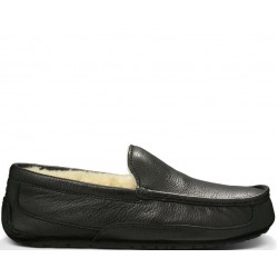 "UGG Ascot Leather ""Black"""