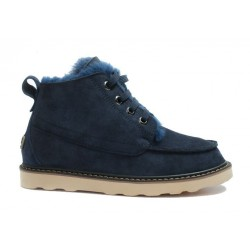 "UGG David Beckham Boots ""Dark Blue"""